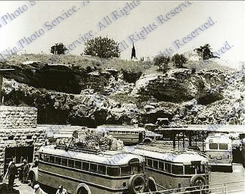 Bus Station At Damascus Gate 1960