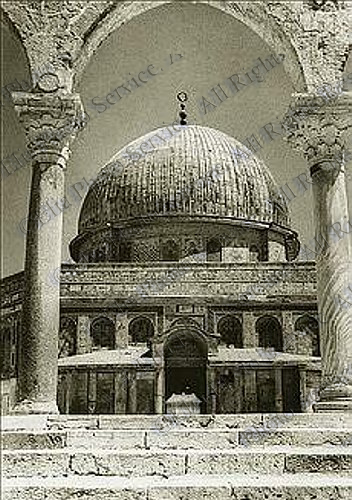 Dome Of The Rock 1927